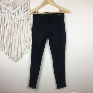 American Eagle Outfitters Jeans - American Eagle •  Distressed Super Low Jeggings